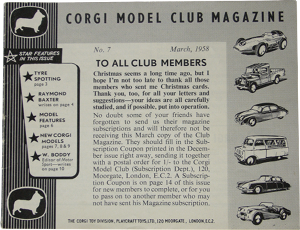 Corgi club magazine 7