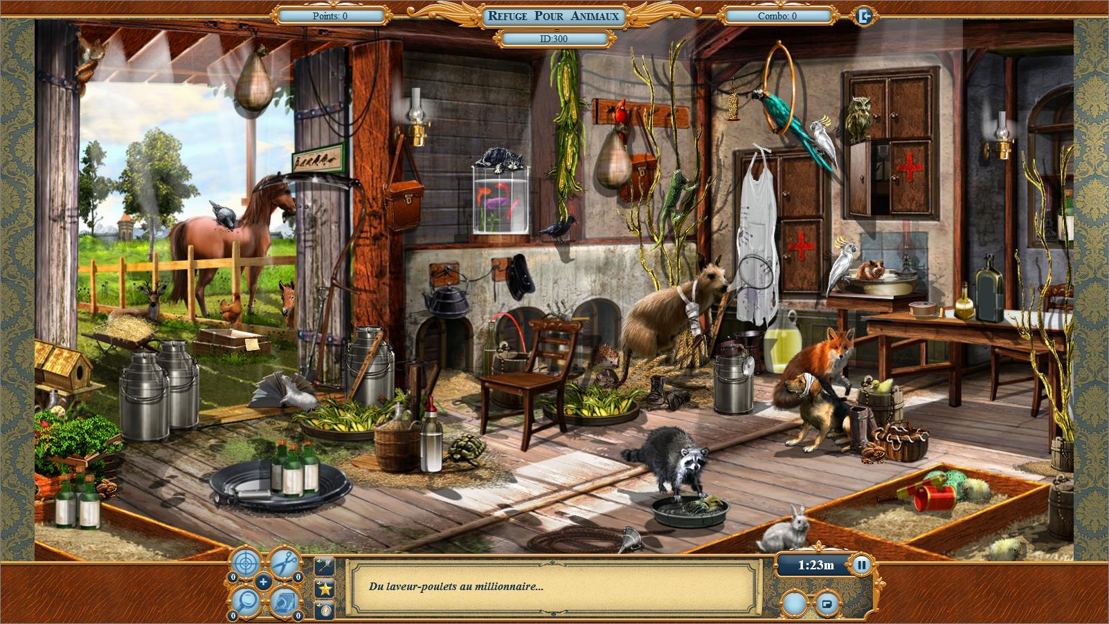 refuge pour animaux jeu 3
