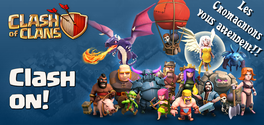 Clash of Clans - Les Cromagnions