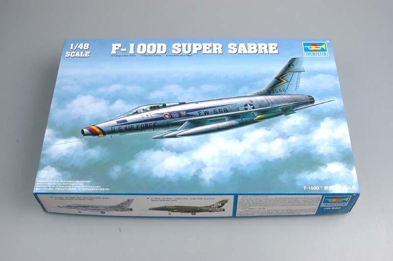 N.A. F-100D Super Sabre [Trumpeter 1/48] 15090106403610194413548112