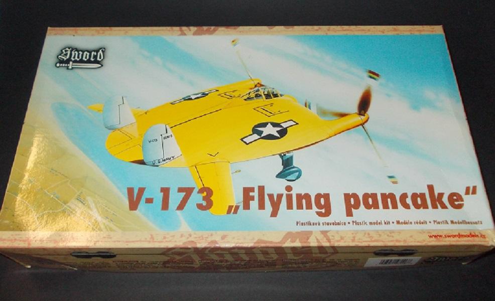 """V-173 """"Flying Pancake"""" (Sword 1/48) 15090204071510194413551432"""