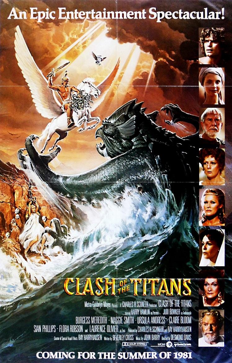 L'AFFICHE : LE CHOC DES TITANS (1981) dans CINÉMA 15090602085615263613559429