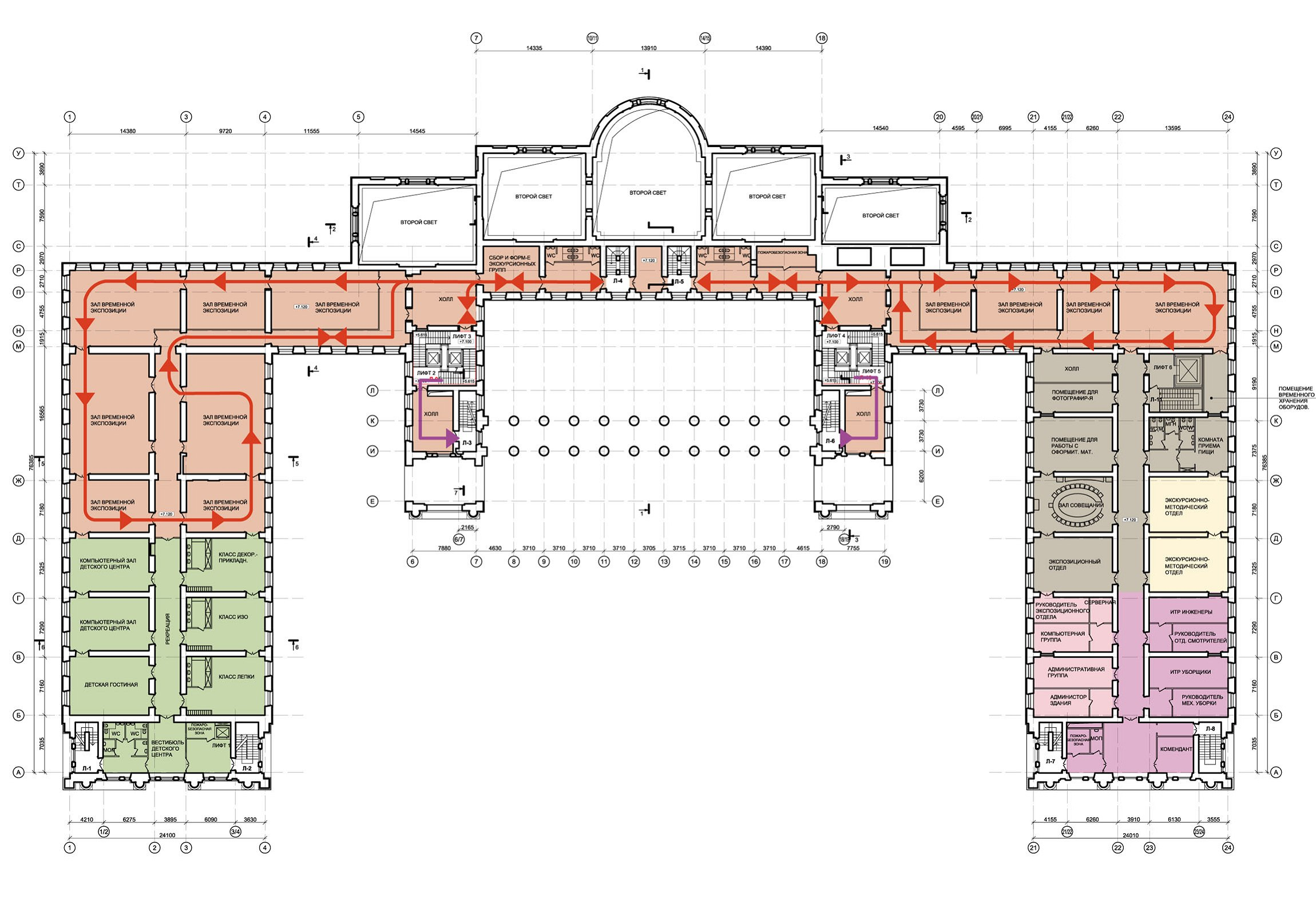Floorplans Of The Alexander Palace