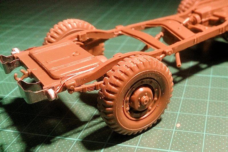 Dodge Staff Car WC57 Italeri 228 1/35 15090712092714106613561659