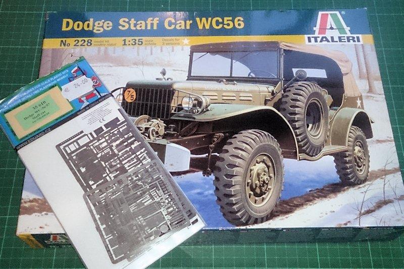 Dodge Staff Car WC57 Italeri 228 1/35 15090712085514106613561649