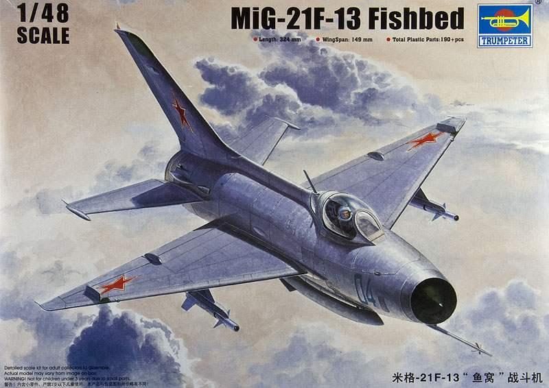 MiG-21 F-13 (Trumpeter 1/48) 15091006051510194413572449