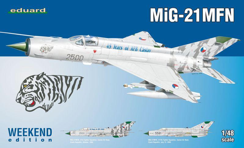 MiG-21 MFN (Eduard 1/48) 15091006065610194413572474