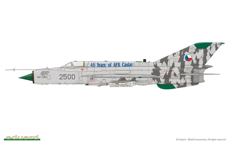 MiG-21 MFN (Eduard 1/48) 15091006065710194413572475