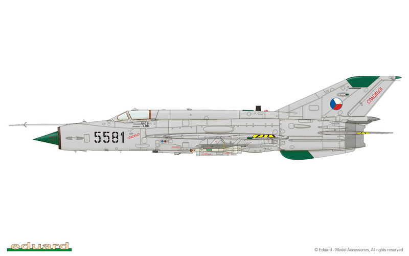 MiG-21 MFN (Eduard 1/48) 15091006065710194413572476