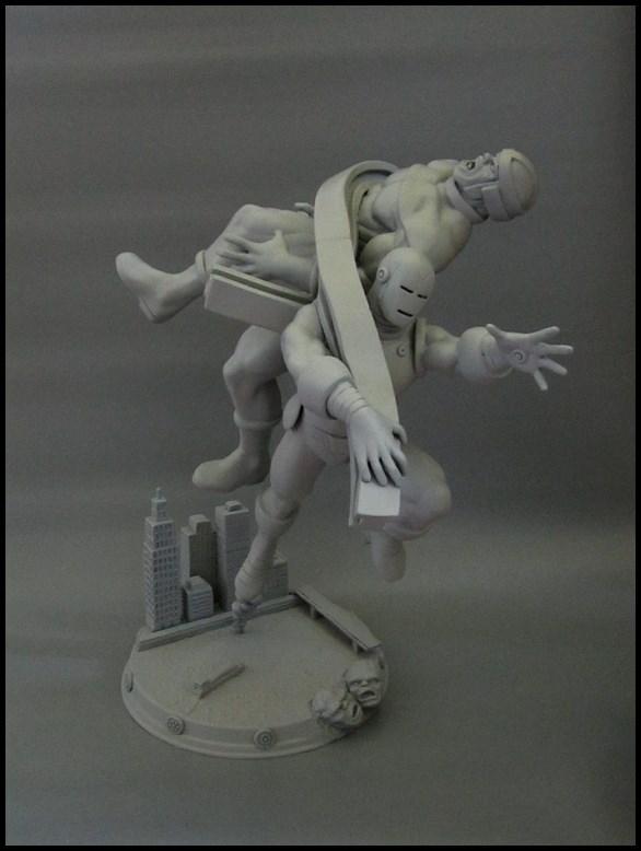Diorama Iron man vs controleur 15091104481616083613574428