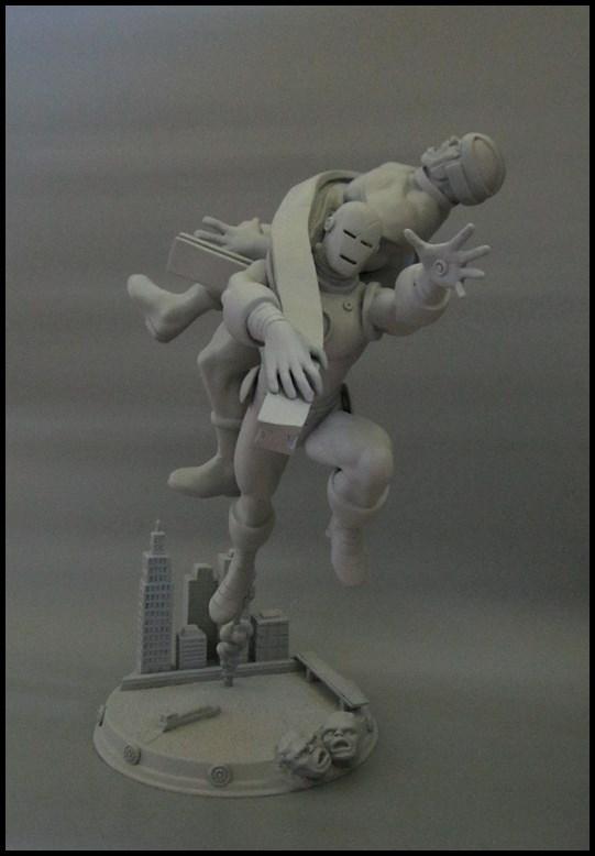 Diorama Iron man vs controleur 15091104481816083613574429
