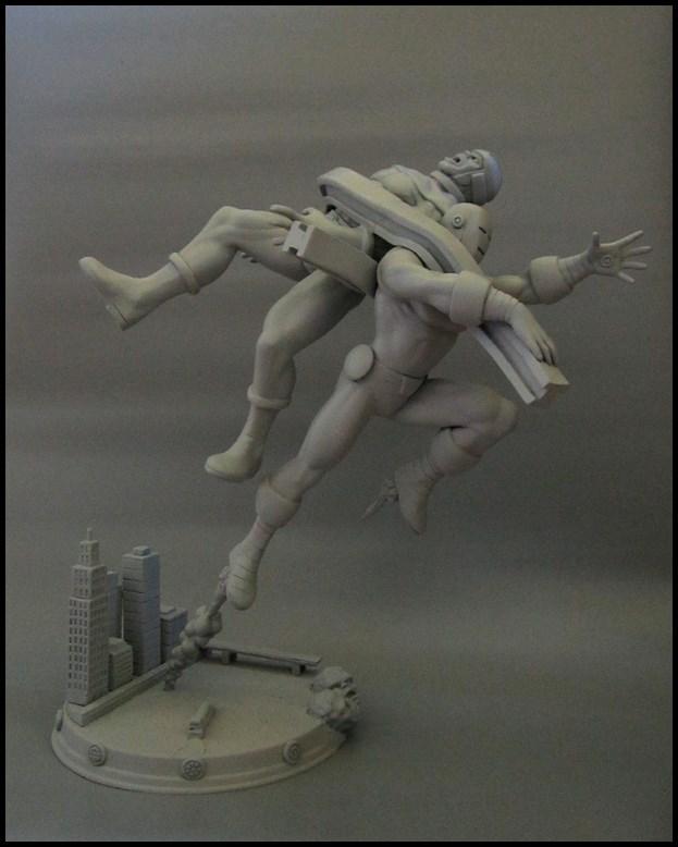 Diorama Iron man vs controleur 15091104482016083613574430