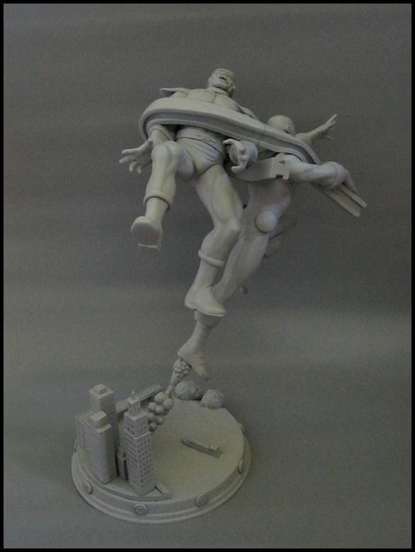 Diorama Iron man vs controleur 15091104482116083613574431