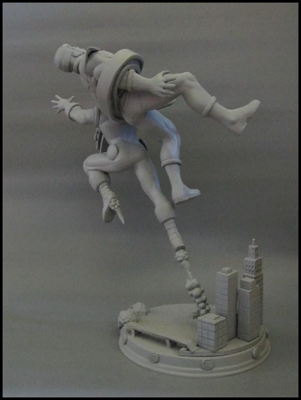 Diorama Iron man vs controleur 15091104482316083613574432