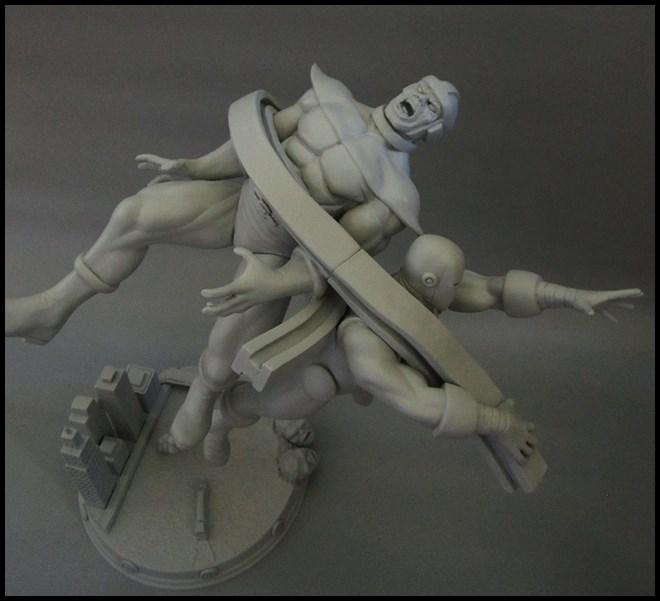 Diorama Iron man vs controleur 15091104482816083613574436