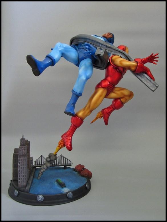 Diorama Iron man vs controleur 15091406093216083613581588