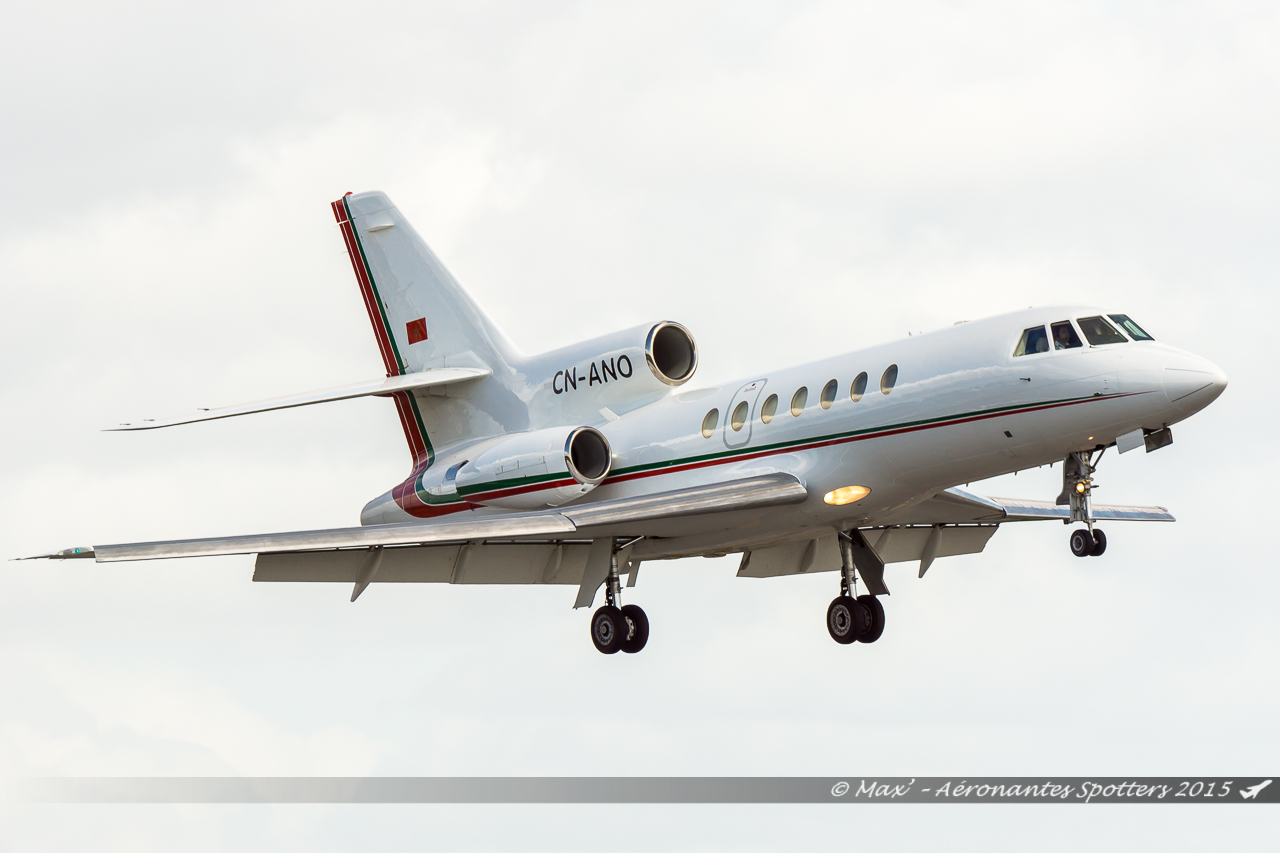[14/09/2015] Dassault Falcon 50EX (CN-ANO) Royal Moroccan Air Force 15091408031820291013582002