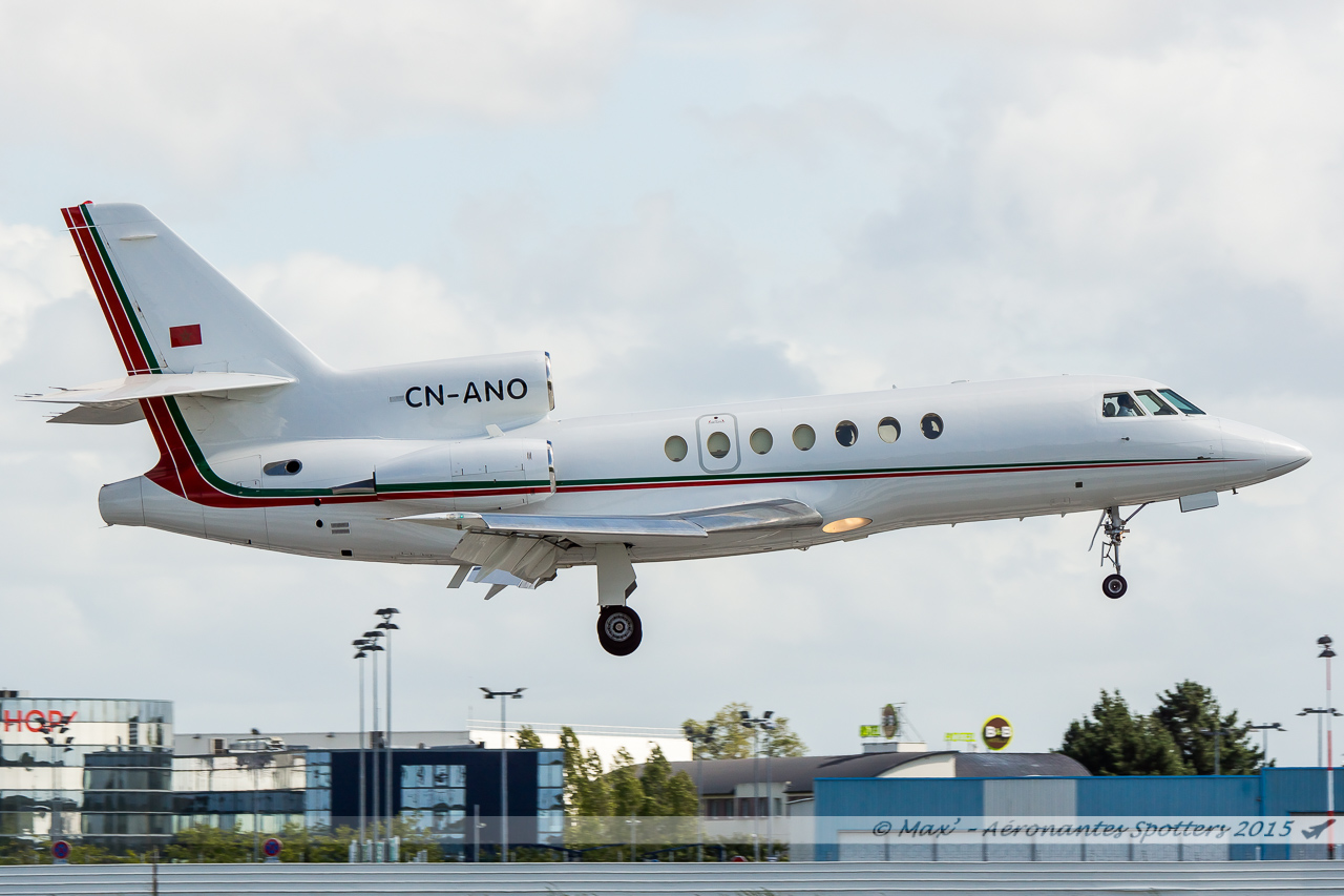 [14/09/2015] Dassault Falcon 50EX (CN-ANO) Royal Moroccan Air Force 15091408032220291013582003