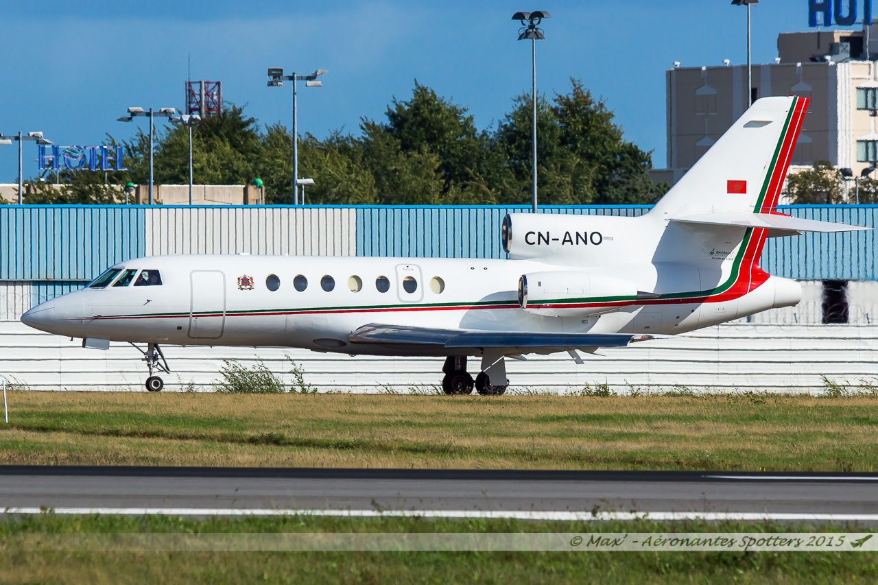 [14/09/2015] Dassault Falcon 50EX (CN-ANO) Royal Moroccan Air Force 15091408032820291013582004