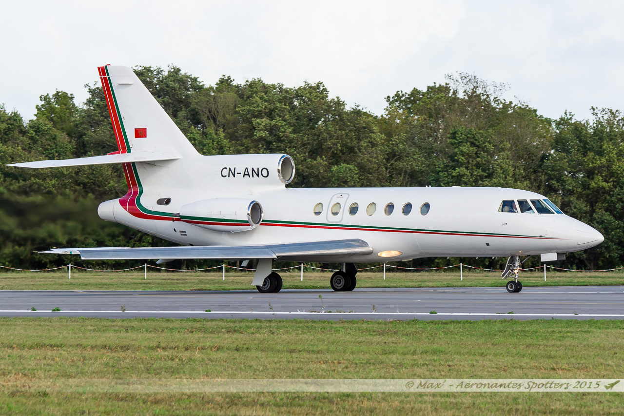 [14/09/2015] Dassault Falcon 50EX (CN-ANO) Royal Moroccan Air Force 15091408033520291013582005