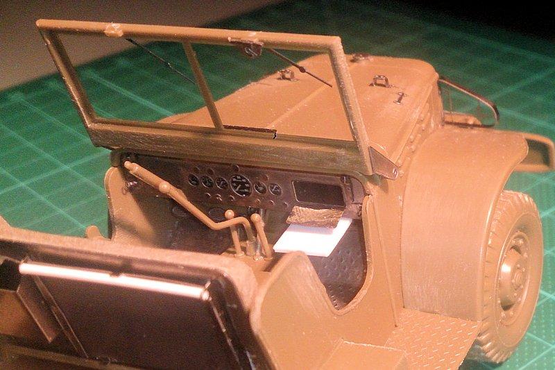 Dodge Staff Car WC57 Italeri 228 1/35 15091512300814106613582592