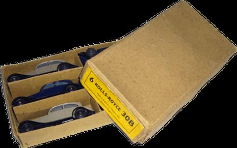 Rolls-Royce 20/25 hp Dinky-Toys dealer box