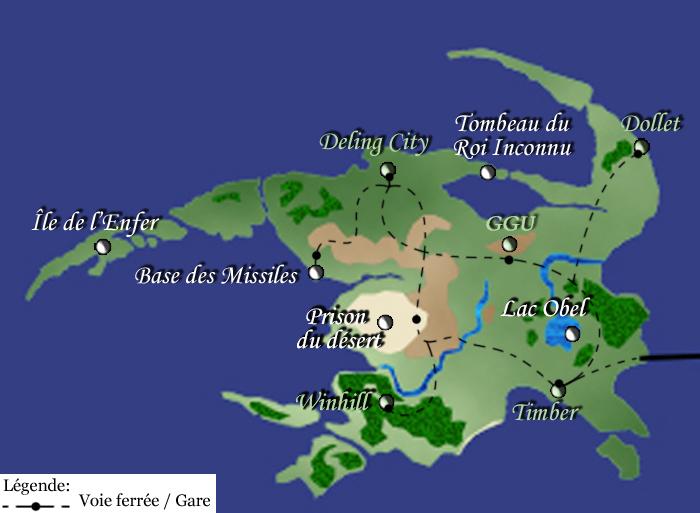 Dol - Continent de Galbadia