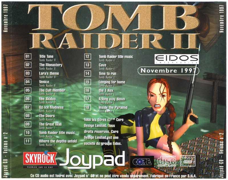 Les Musiques des jeux Tomb Raider I & II 15100405491420259513632745