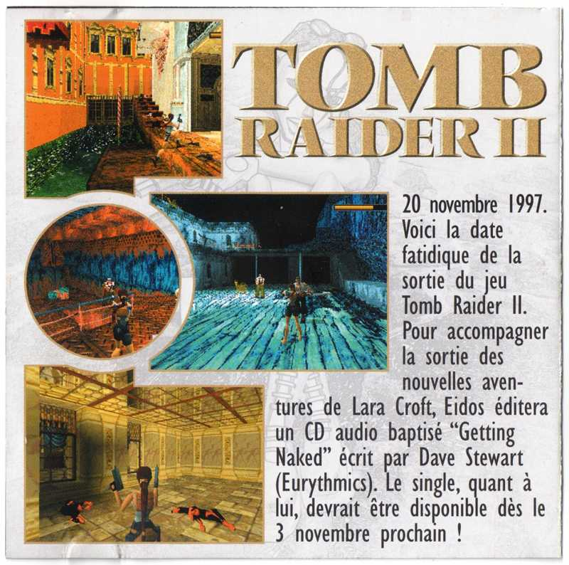 Les Musiques des jeux Tomb Raider I & II 15100405491420259513632746