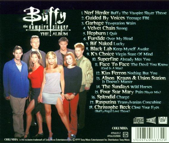 Buffy (CD de la BO) 15100405553520259513632788