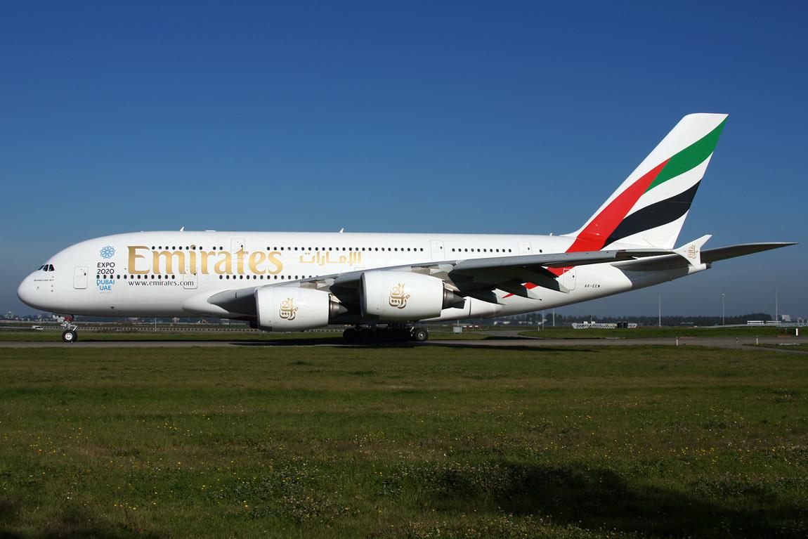 981 A380 A6-EEW Emirates