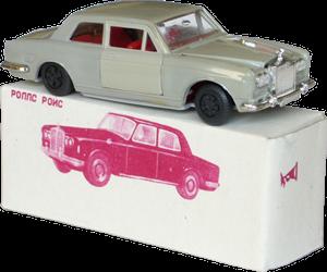 Rolls-Royce Silver Shadow coupé Modelkopia