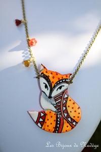 bijoux renard roux