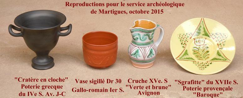 reproductions céramique