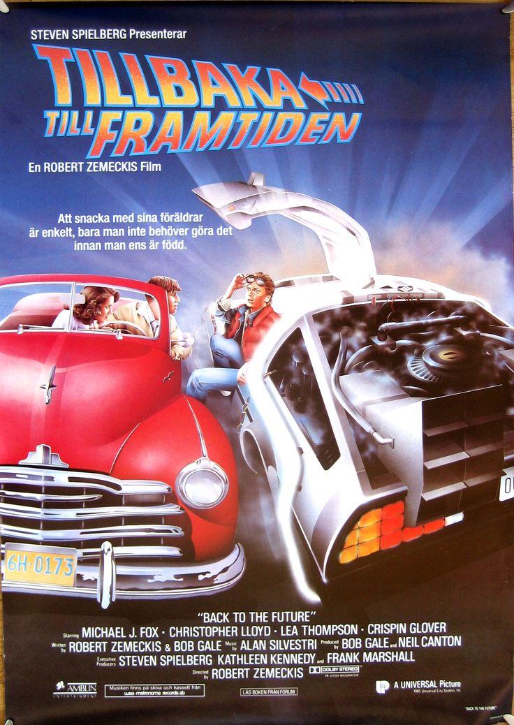 L'AFFICHE : RETOUR VERS LE FUTUR (1985) dans CINÉMA 15101908355115263613673539