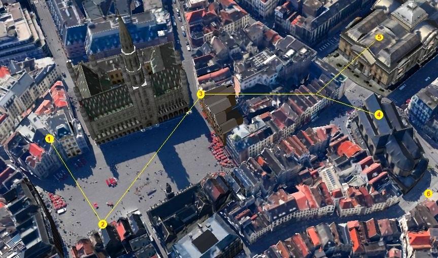 Bruxelles : Grand-Place, Parc Royal, Manneken'Pis... 15102004511519075513677879