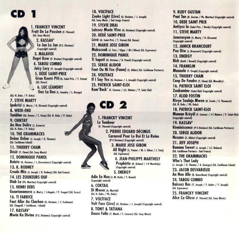 Mega Zouk (album 4 CD) 15102202525720259513682560