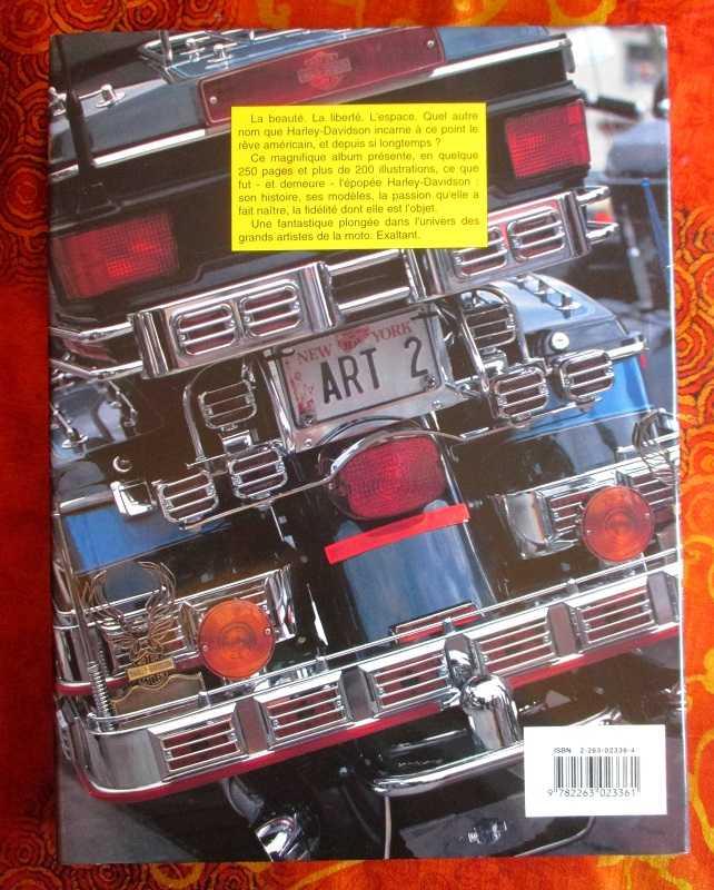 Harley-Davidson (le grand livre des) 15102212214820259513682309