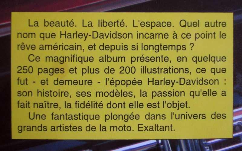 Harley-Davidson (le grand livre des) 15102212214820259513682310