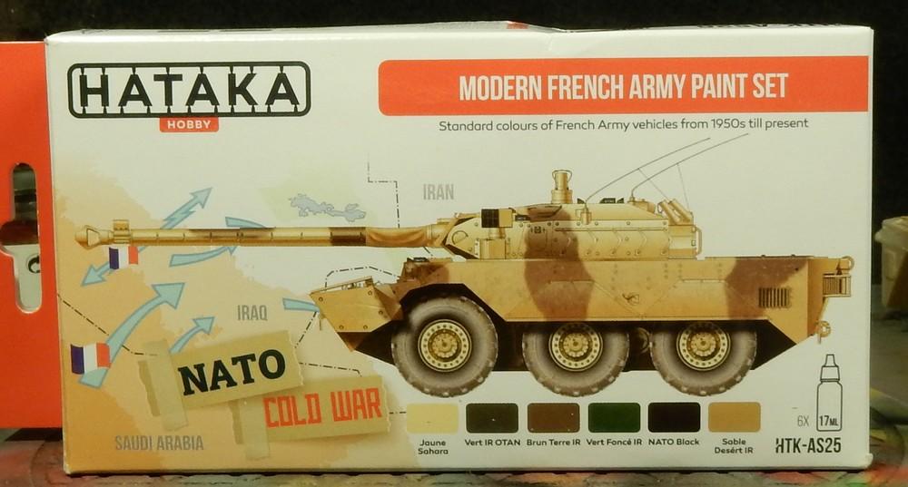 "Test peinture Hataka ""Modern French Army Paint Set"" 15102708403319942713698897"