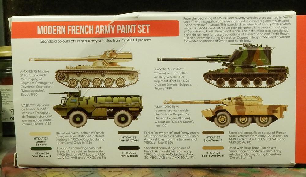 "Test peinture Hataka ""Modern French Army Paint Set"" 15102708403619942713698898"