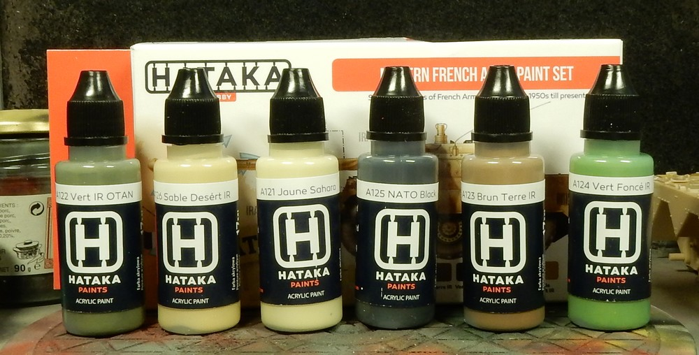 "Test peinture Hataka ""Modern French Army Paint Set"" 15102708403819942713698900"