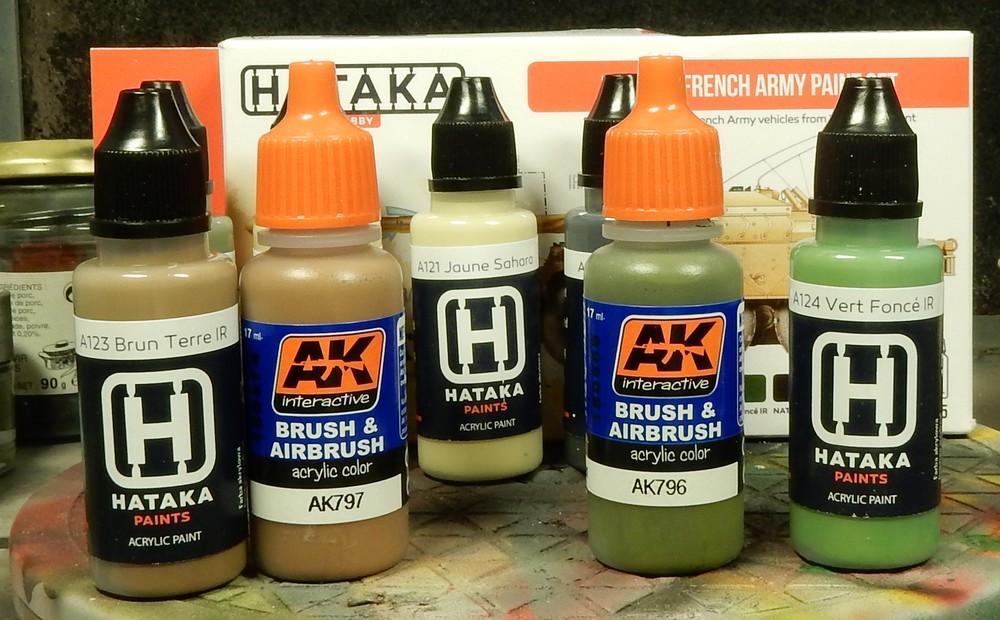 "Test peinture Hataka ""Modern French Army Paint Set"" 15102708404119942713698901"