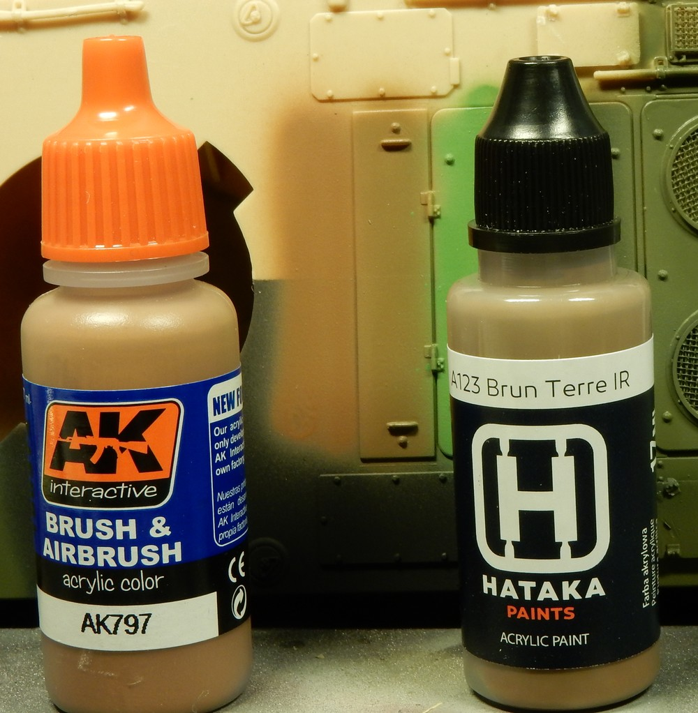 "Test peinture Hataka ""Modern French Army Paint Set"" 15102708410719942713698911"