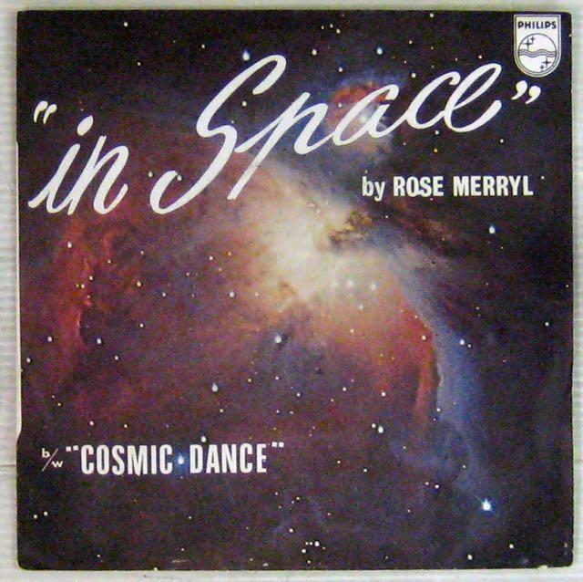 MERRYL ROSE - In space - 7inch (SP)