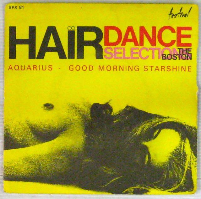 THE BOSTON - Auarius/Good morning starshine - 7inch (SP)