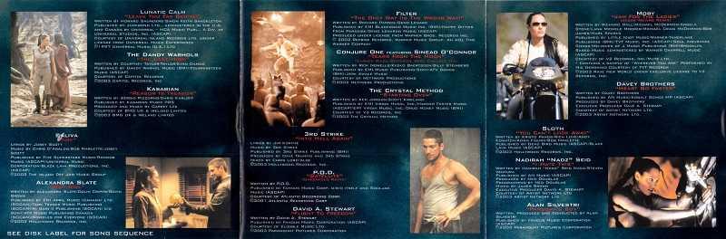 Tomb Raider II – La musique du film 15103011151020259513707503