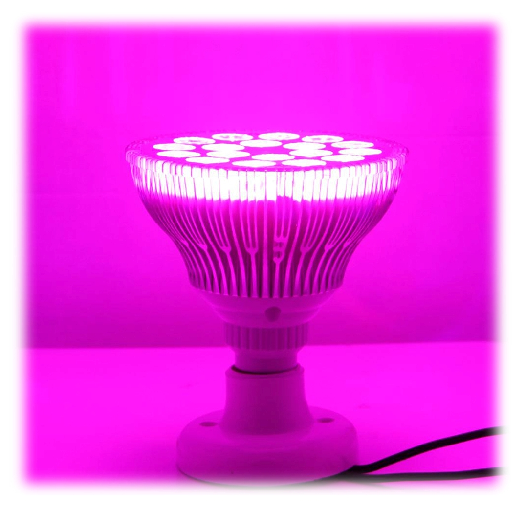 Ampoule phytoled horticole 54 watts culture int rieure for Led culture interieur