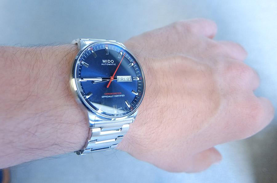 Mido - News : Mido Commander Calibre 80 Chronomètre - Page 3 15111006092914314113739708
