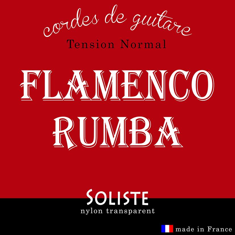 corde de guitare flamenco et rumba